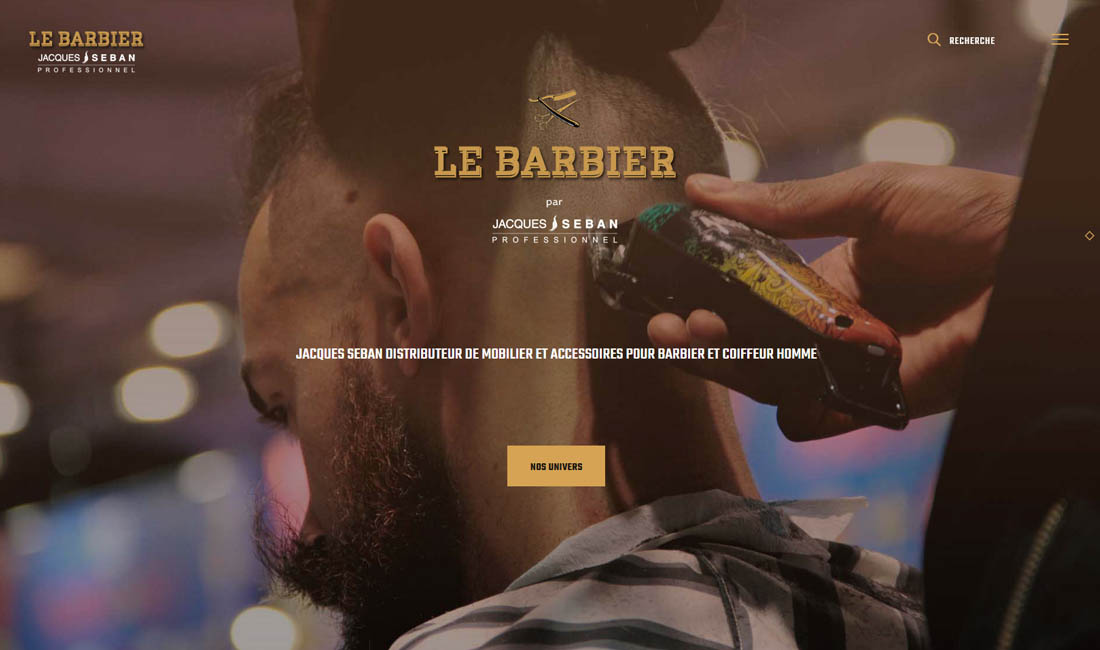 Le Barbier par Jacques Seban